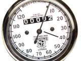 Speedometer 0-120mph  Smiths Fits Royal Enfield, BSA, AJS Models available at Online at Royal Spares