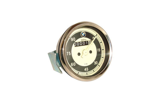 0-90 MPH Speedometer Rare Fits Vintage BMW Motorcycles available at Online at Royal Spares