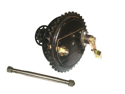 Complete  Rear Half Width Hub & Brake Assembly Fits Triumph available at Online at Royal Spares