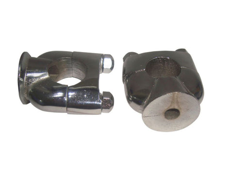 Chromed  Motorcycle Handlebar Risers Fits Royal Enfield available at Online at Royal Spares