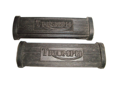 Foot Rest Foot Peg Rubber Pillion Footrest Set Fits Triumph available at Online at Royal Spares