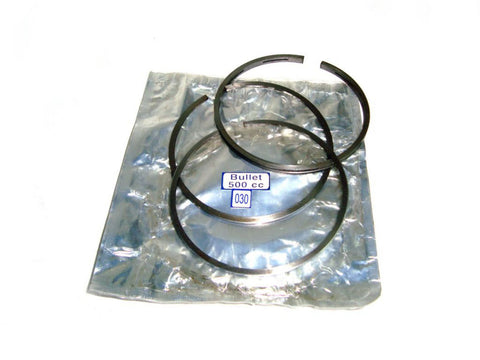 "Brand New Piston Ring Set 500cc Over Size 030"" Fits Royal Enfield Bullet available at Online at Royal Spares"