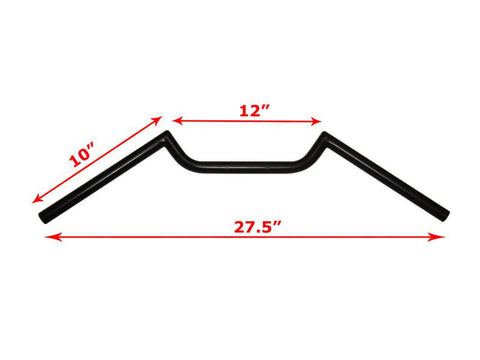 Universal 7/8 Inches Handle Bars With Closed Ends Fits Many Bikes available at Online at Royal Spares