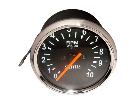 Tachometer 80mm 0-10K RPM Fits BSA,Norton,Royal Enfield available at Online at Royal Spares