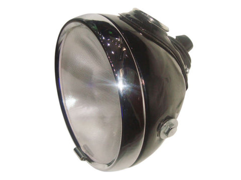 Flat Glass Headlight Headlamp Fits BSA Triumph Norton AJS Bikes MU42 available at Online at Royal Spares