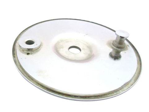 New Chromed Rear Brake Plate Fits Triumph 3HW T100 TR5 6T Pre Unit Rigid Models available at Online at Royal Spares