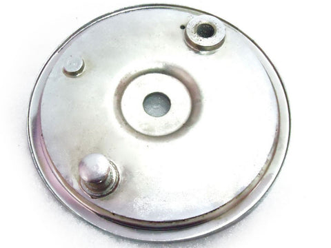 New Chromed Rear Wheel Brake Anchor Plate Fits Triumph W1112 650 T120 Tr6 500 T100 available at Online at Royal Spares