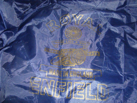 Buy All Weather Body Cover Blue Fits Royal Enfield Bullet Online at Royal Spares Best Price-Worldwide free delivery