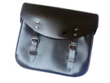 Pair of Handcrafted Genuine Leather Pannier Bags Fits Royal Enfield 350cc - 500cc