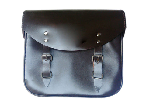 Pair of Handcrafted Genuine Neo Leather Pannier Bags Fits Royal Enfield 350cc - 500cc