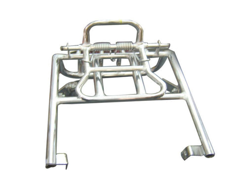 Chromed Rear Luggage Carrier Fits Royal Enfield