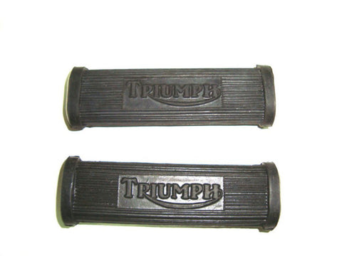 Brand New Rear Footrest Rubber Kit Fits Vintage Triumph Motorcycle available at