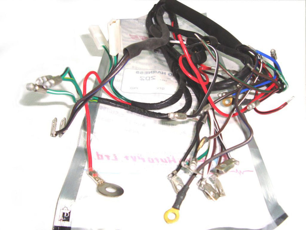 Stupendous 6V Main Wiring Harness Fits Royal Enfield Bikes Royal Spares Wiring 101 Tzicihahutechinfo