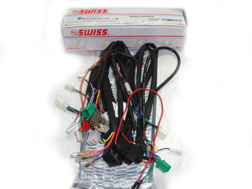 wiring harness fits royal enfield electra avlmodels royal spares wiring harness fits royal enfield electra avlmodels