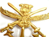 Best Quality Army Brass Finish Army Decal/Badges With Fixings