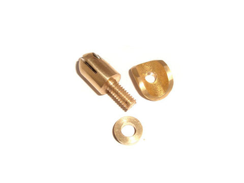 Brass Front Mudgaurd Number Plate Fixing Nuts Fits  Royal Enfield, Triumph, Norton,BSA