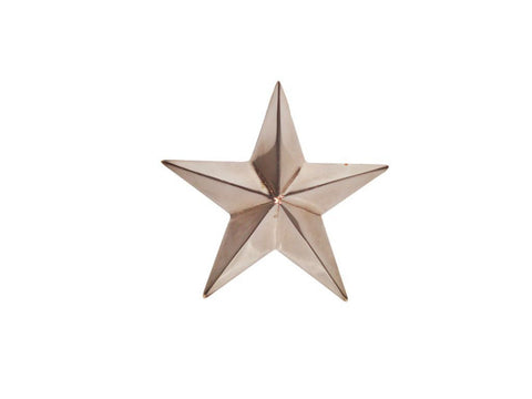 "Brand New Star Brass Chromed Decals With Fixings For Universal 3.75"" Size"