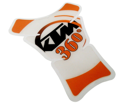 Fuel Gas Tank Pad Protector Sticker Fits KTM 360 Models