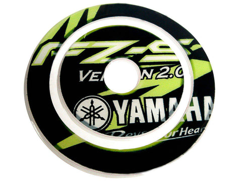 Fuel Gas Tank Cap Pad Protector Sticker Fits  FZ-S 2.0 Light Green
