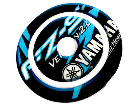 Fuel Gas Tank Cap Pad Protector Sticker Fits FZ-S 2.0 blue