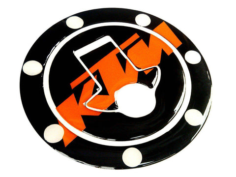 Fuel Tank Gas Cap Cover Sticker Decal Pad Protector: Ktm Duke 125 200 390 Rc