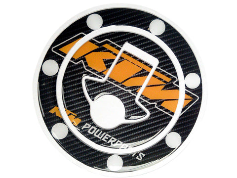 KTM  Powerparts Fuel Gas Tank Cap Pad Protector Sticker Decal Fits KTM Duke RC