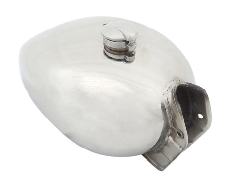 Fuel Tank + Monza Cap Stainless Steel 304 Grade Fits Vintage 1950 Royal Enfield Motorcycless