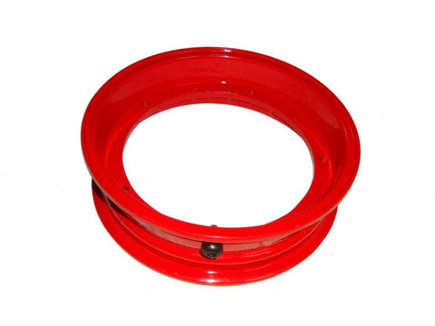 2.50x10 Inch Red Tubeless Wheel Rim Fits Vespa and LML Scooters available at Online at Royal Spares