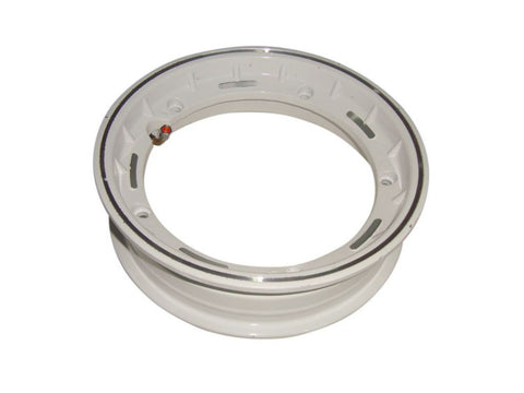 "2.50/10"" White Tubeless Wheel Rim Fits LML and Vespa PX Models available at Online at Royal Spares"