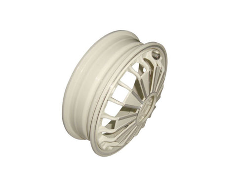 "2x 2.50/10"" Double Cream Aluminium Wheel Rim Tubeless Fits Vespa / LML Scooters available at Online at Royal Spares"
