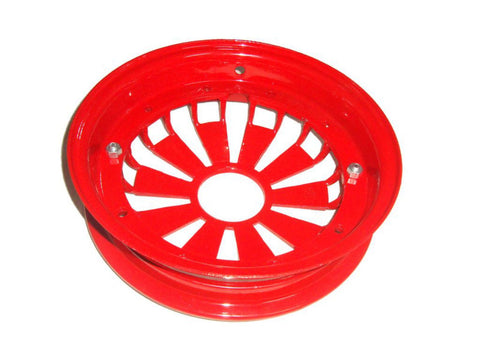2x 10 Inch Red Aluminium Wheel Rim Fits Vespa Rally/Sprint Models available at Online at Royal Spares