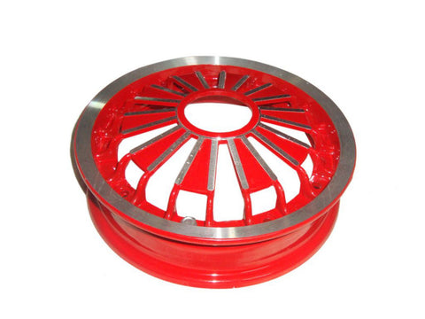 10 Inch Red Aluminium Wheel Rim Fits Vespa Rally/Sprint Models available at Online at Royal Spares