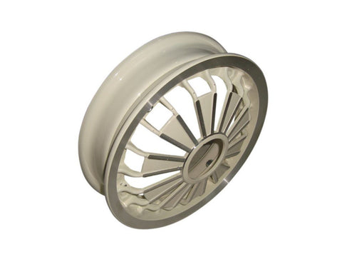 Aluminium Wheel Rim Cream Fits Vespa Scooter Rally/Sprint Models available at Online at Royal Spares