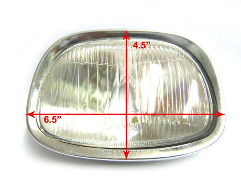 High Quality Complete Headlight Unit Fits Vespa Many Models available at Royal Spares