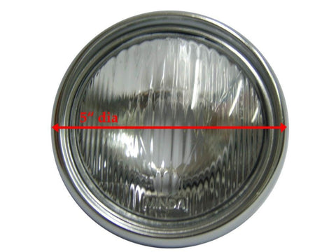 Complete Rare Headlight Assembly Fits Early Vespa VNA Models available at Royal Spares