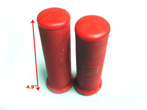 Good Quality 22mm Red Rubber Hand Grip Covers Set Fits Vespa GS160 (VSB) Model available at Royal Spares