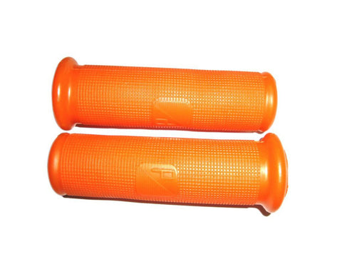 Brand New Rubber Hand Grip Covers Orange 22mm Fits Vespa Scooter VBA, VBB available at Royal Spares