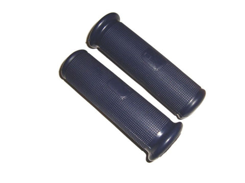 Brand New Blue Rubber Hand Grip Covers 22mm Fits Vespa VBA, VBB Models available at Royal Spares