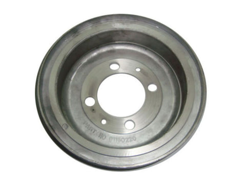 Sportique Rear Hub Drum 4 Bolt 8 Inches Fits-Vespa Sportique, 42 L2, 92 L2, 152 Models