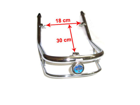 Brand New Front Bumper Single Bar Fits Vespa Sprint, Rally Model