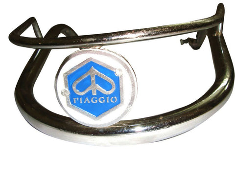 Chrome Front Bumper Bar Fits Vespa VBB,150,Sprint,Rally,Super Models available at Online at Royal Spares
