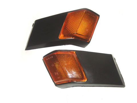 Rear Indicators With Orange Lens Fits Vespa Classic,SL Models