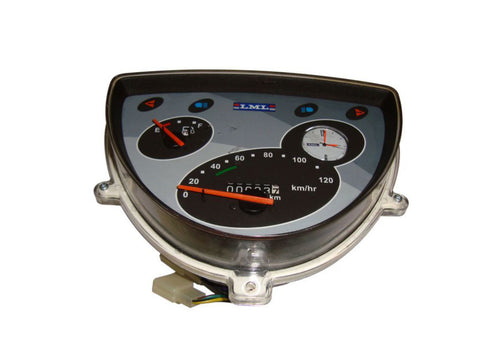 Brand New Grey Face Speedometer - Vespa Scooter LML