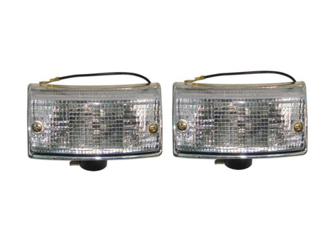 Brand New Front Indicator Set LH/RH With Bulbs - Vespa PX80-200/PE Scooter available at Online at Royal Spares