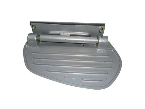 Vespa Side Panel Folding Footrest Alloy - Vespa VL VM VN VBA VBB VBC Super Sprint 150 available at Online at Royal Spares