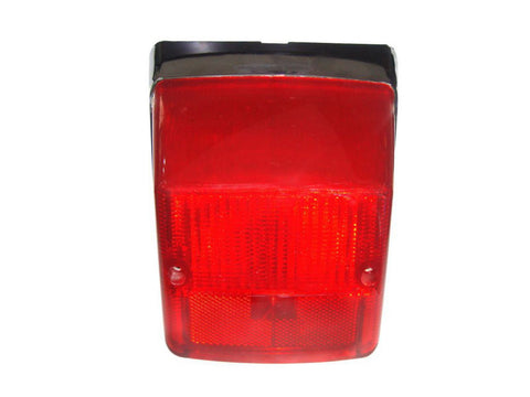 Rear Lamp Tail Light Chrome Retro - Vespa LML Star Stella PX 125 150 200 Scooter available at Online at Royal Spares