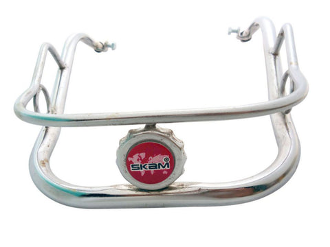 Vespa Front CH99 Bumper Chrome Crashbar Protector Guard - Vespa PX & LML Model available at Online at Royal Spares