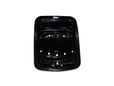 Brand New Black Paint Seat Tray - Vespa PX125 PX150 P200 VBX VNX Stella Model available at Online at Royal Spares