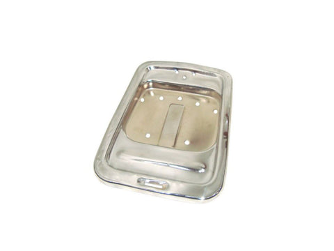 Brand New Chrome Paint Seat Tray - Vespa PX125 PX150 P200 VBX VNX Stella Model available at Online at Royal Spares