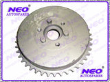 Rear Wheel Drum & Sprocket 42T Fits Vintage BSA M20 Rigid Model available at Online at Royal Spares
